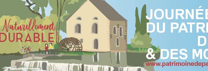 Journées du Petit Patrimoine      et des Moulins